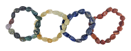 Tumbled Nugget Bracelets-Quartz