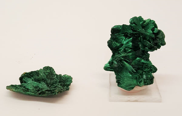 "Malachite 1"" tall x  .75"" wide"