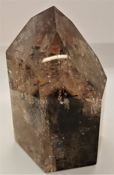Phantom Smoky Quartz Point
