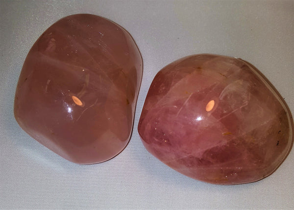 "Rose Quartz 3"" Palm Stone"