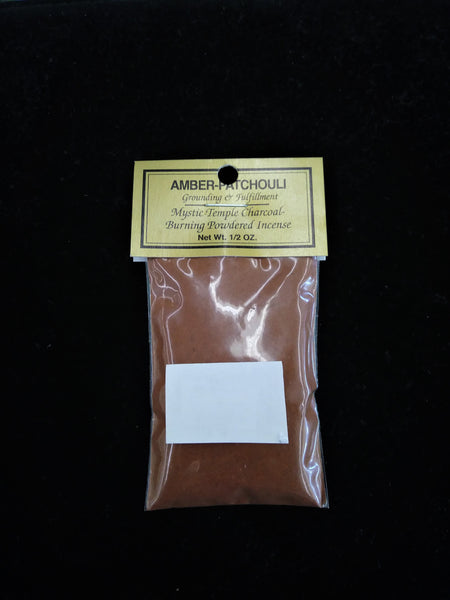Amber-Patchouli Resin