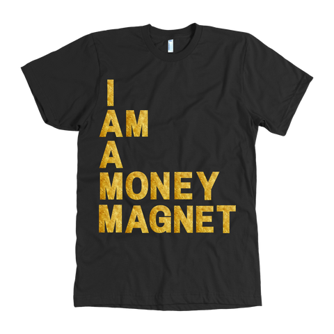 I Am A Money Magnet Tee - Coins and Connections
