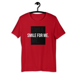 Smile For Me Red Unisex T-Shirt