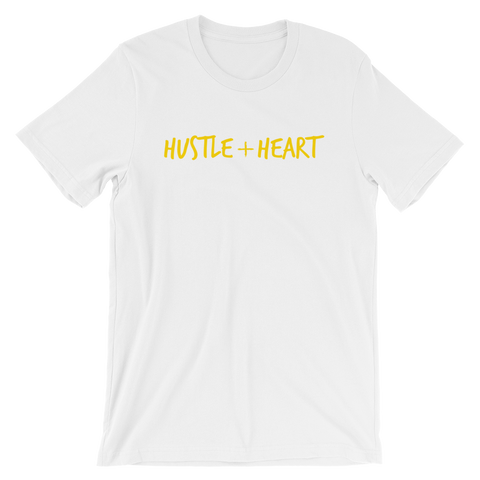 Hustle + Heart Unisex Short Sleeve T-Shirt
