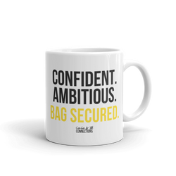 Bag Secured Mug - Coins and Connections