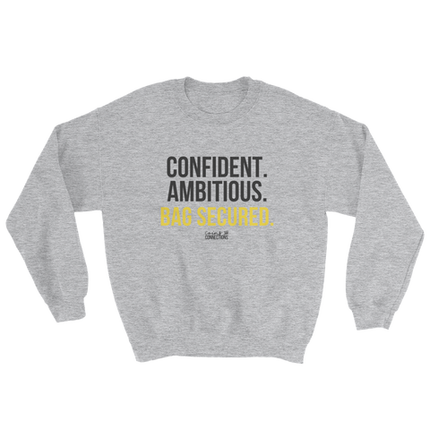 Bag Secured Sweatshirt - Coins and Connections