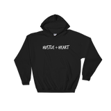 Hustle + Heart Unisex Heavy Hooded Sweatshirt