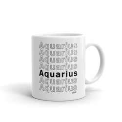 Aquarius Mug - Coins and Connections