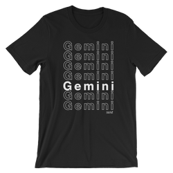 Gemini Short-Sleeve Unisex T-Shirt - Coins and Connections