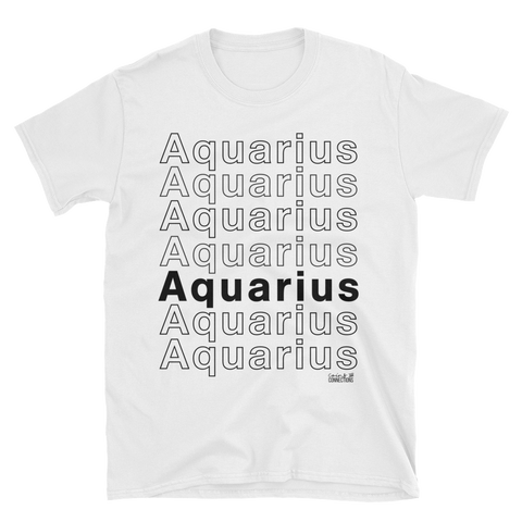Aquarius T-Shirt - Coins and Connections