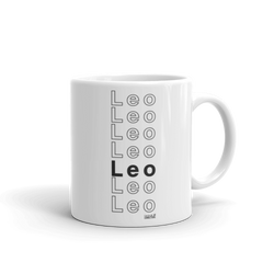 Leo Mug - Coins and Connections