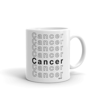 Cancer Mug - Coins and Connections