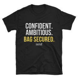 Bag Secured Unisex T-Shirt - Coins and Connections