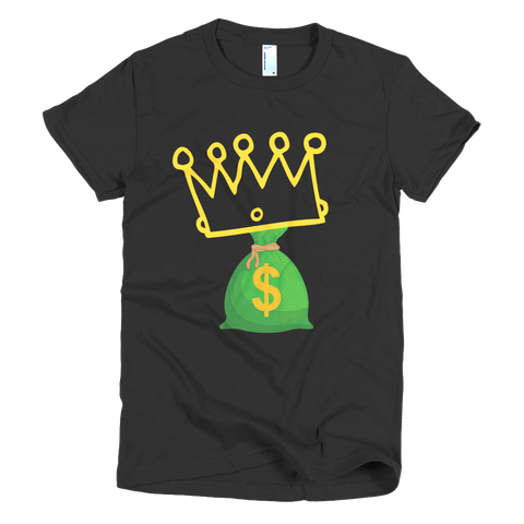 Rich Friends Women Tee - Coins and Connections