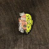 DRIPPY WITCH Pin - Limited Edition & Glows! - Laser Wolf Attack
