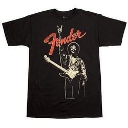 FENDER® JIMI HENDRIX PEACE SIGN T-SHIRT