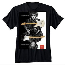 FENDER® JIMI HENDRIX® COLLECTION ALTER YOUR AXIS T-SHIRT