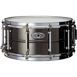 Pearl 14x6.5 SensiTone Beaded Blck Nickel/Brass Snare Drum