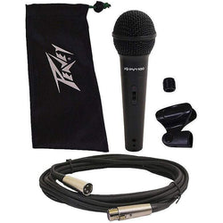 Peavey PVi 100 Microphone with clip, cable and storage bag