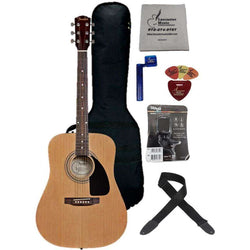 Fender  FA-100 Acoustic w/ Gig Bag and accessories - Natural