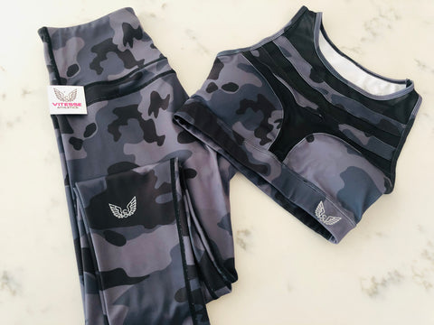 Frill Camo Bottoms