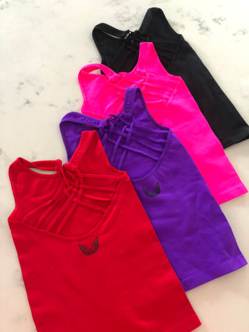 Ally Girls Strappy Tank (*More Colors)