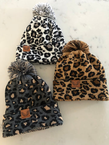 Animal Print Beanie (*More Colors)