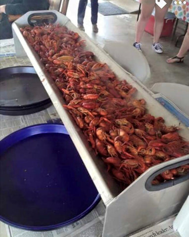 Crawfish Serving Tray