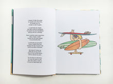Salty Sleepy Surfery Rhymes - Surf poems and drawings - by Joe Vickers
