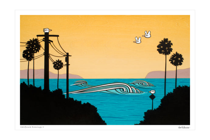 California Evenings II • Print