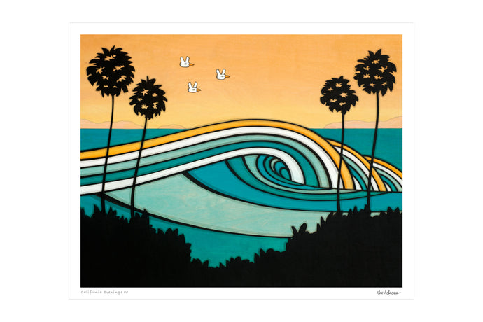 California Evenings IV • Print