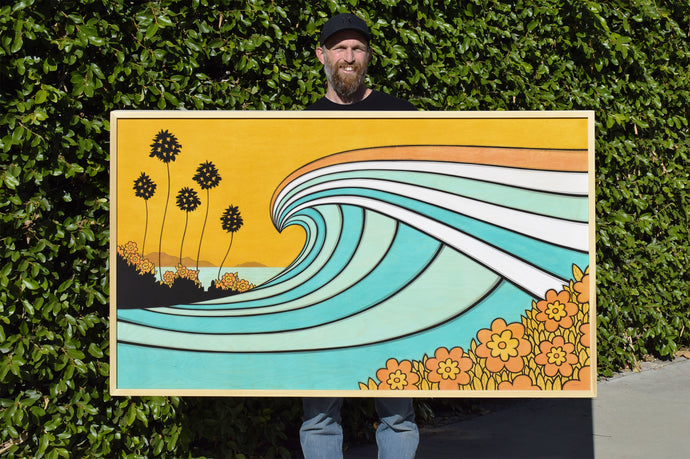 California Wave • Original Art