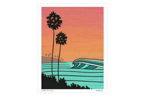 California Sunset • Print