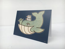 Shaka Whale - Greeting Cards - 3 Pack