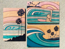 Wooden Postcard Set