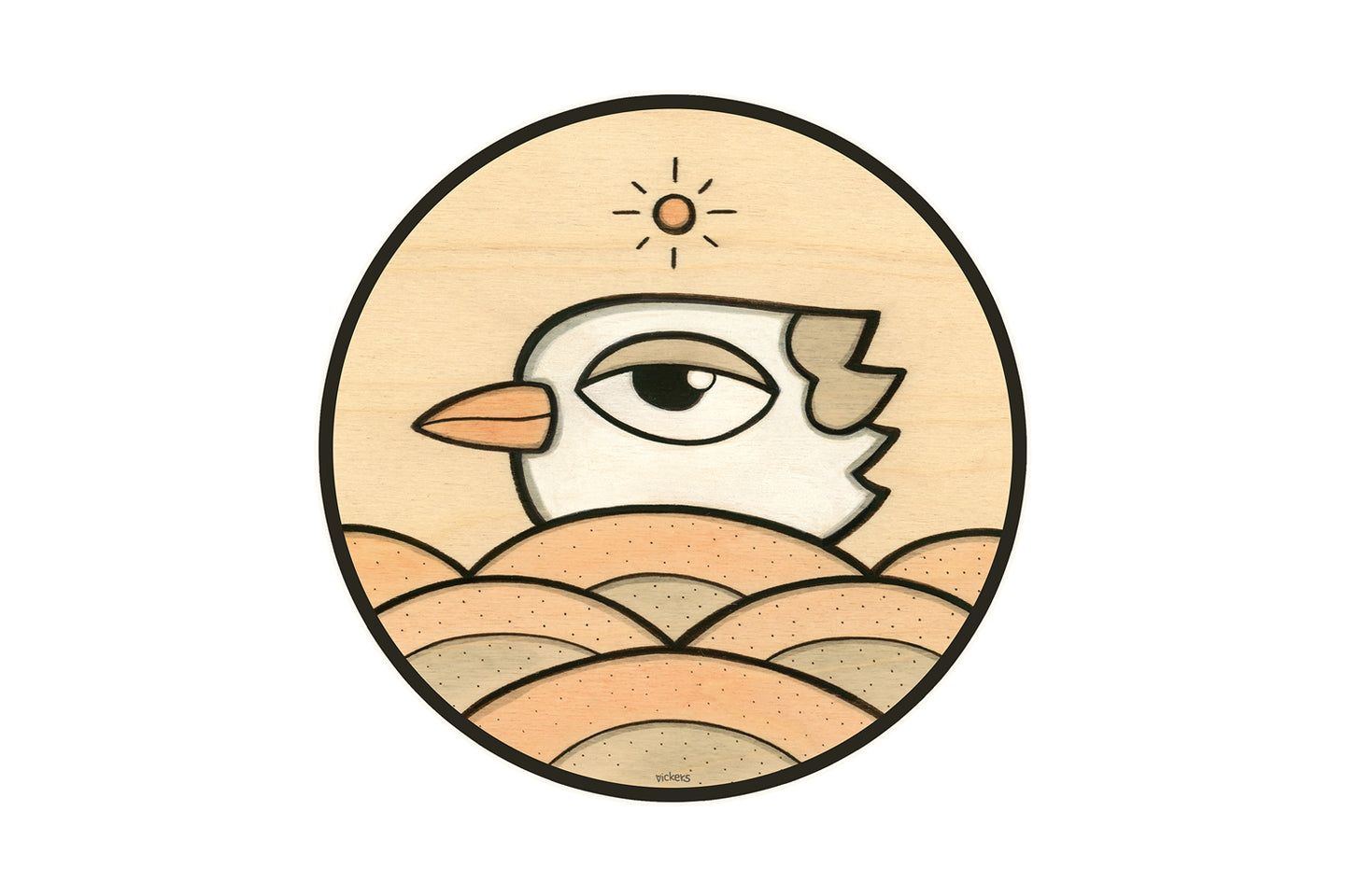 Birdy Sunshine Sticker