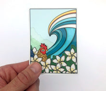 Kauai Rooster Sticker