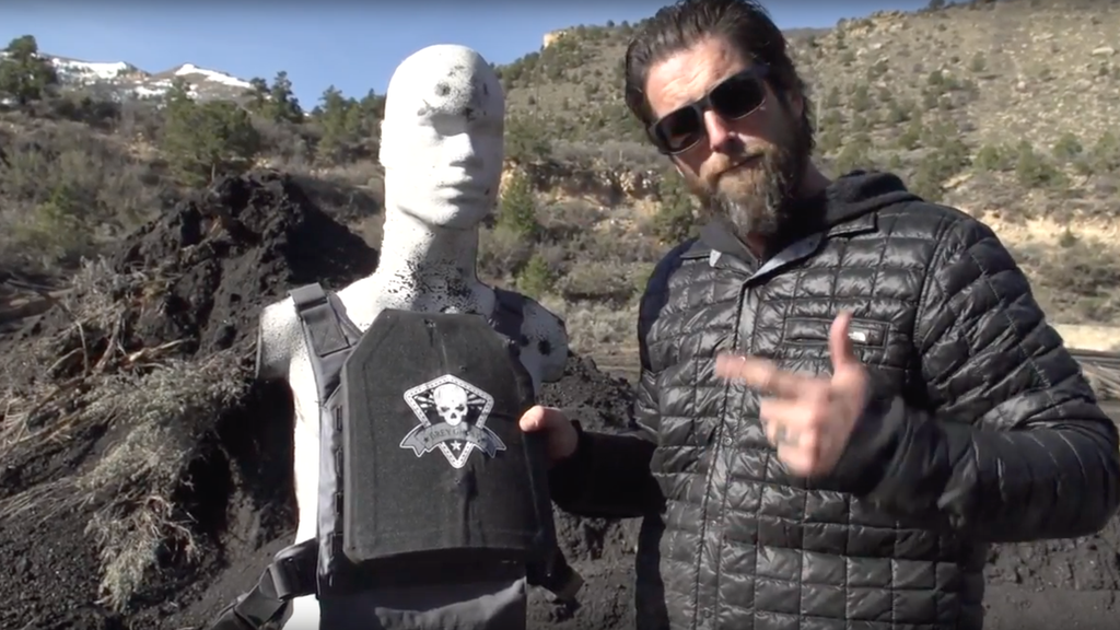 Grey Ghost Gear LV 3 Ultra Lightweight Body Armor VS Machine Gun