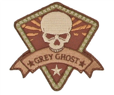 Grey Ghost Gear Patch