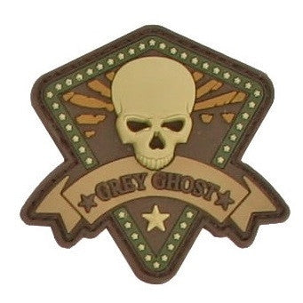 Grey Ghost Patch Mini