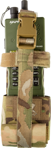Radio Pouch Large - Laminate