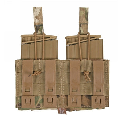 Double 7.62 Mag Panel and Pistol Mag Pouch