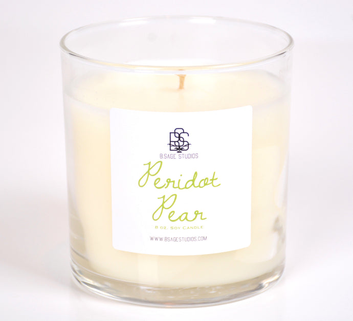 Peridot Pear Soy Candle, 8oz