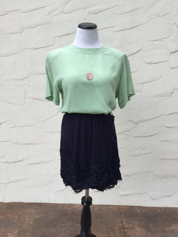 Molly Top in Light Green