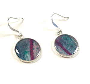 Painting Pendant Earrings