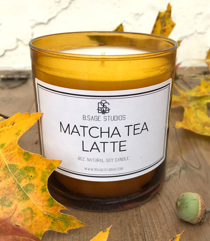 Matcha Tea Latte Soy Candle