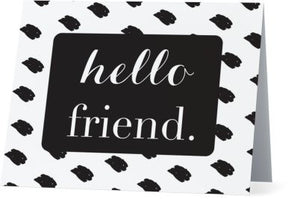 Hello Friend Notecard