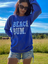 Blue Beach Bum Sweatshirt