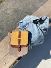 Mustard Canvas Crossbody