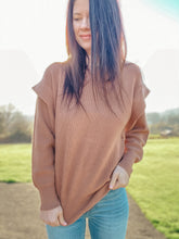 Chelsea Camel Sweater